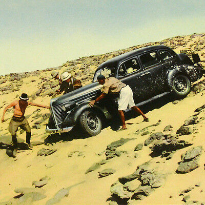 5000 Kilometer roadtrip Africa Egypt-Sudan Desert 1940 w/ car + Leica Photo Book