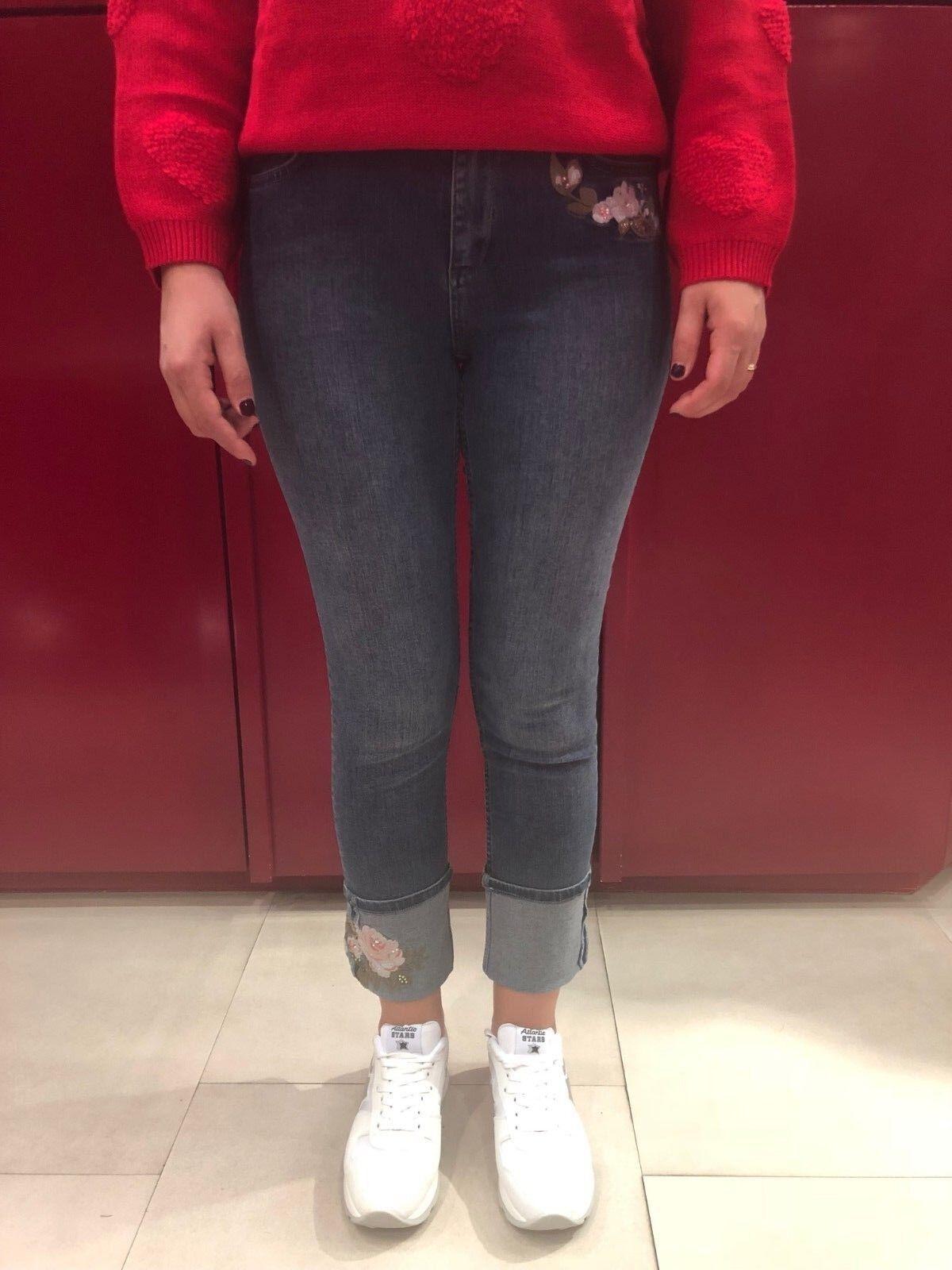 My Twinset Jeans Skinny Frau ART.JA82V5-01104 Rabatt 30%