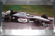 Formula One McLaren Mercedes F1 David Coulthard Official Commemorative Poster