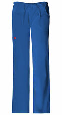 Dickies 82009 EDS Soft Works Junior Fit Drawstring Scrub Pant - Royal (2XL)