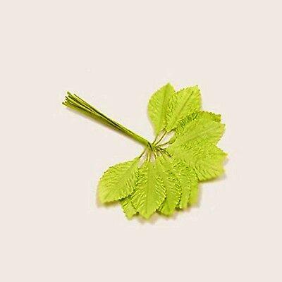 Décoration de mariage 36 feuilles en tissus fuchsia