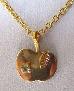 collier-chaine-bijou-pendentif-pomme-couleur-or-cristal-diamant-feuille-4453