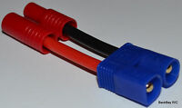 Super Tigre Adapter: Female 3.5mm Bullets To Male Ec3 With 2.5cm 14awg Wire