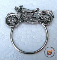 Cruiser Biker Pin With Sunglass Holder Made In Usa
