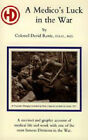Medico's Luck in the War by David Rorie (Paperback, 2003)