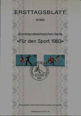 """KüHn Berlin Minr 698-699 Etb 4-83 """"sporthilfe 1983"""" -eishockey Weltmeisterschaft 83- Den Speichel Auffrischen Und Bereichern"""