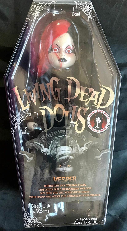 LIVING Dead Dolls 2018 proposito di Vesper Figura