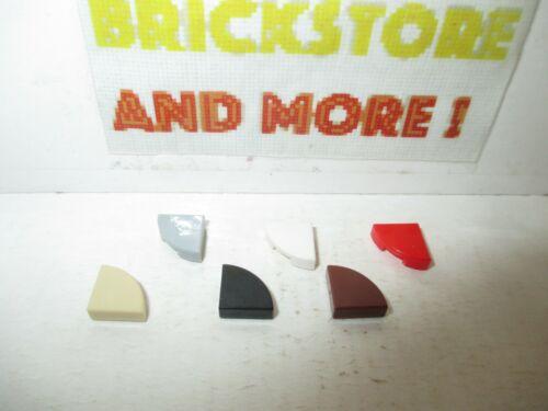 Lego Choose Color /& Quantity Tile Plate Plaque Lisse 1x1 Quarter 25269