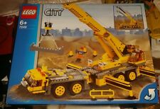 LEGO CITY 7249 XXL used MOBILE CRANE includes INSTRUCTIONS