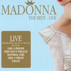 Madonna-The-Best-Live-Reunion-Arena-Dallas-039-90-2016-2CD-NEW-SPEEDYPOST