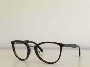 7c988407a 14 Prada SPR 22S 2AU-3M1 Rectangle Havana Sunglasses Frame No Lenses ...