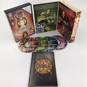 Fable The Lost Chapters PC CD-ROM 2005 Windows 4 Disc Set Complete
