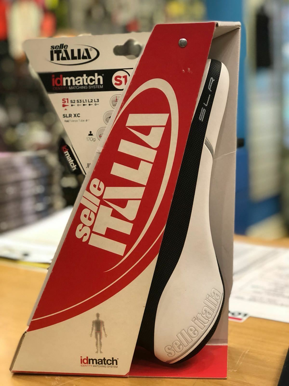 Selle Italia montura anti XC vanox Rail blanco