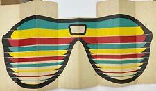 Vintage Autoshade 1986 Sunglasses Auto Shade Cardboard Emergency Sun Visor