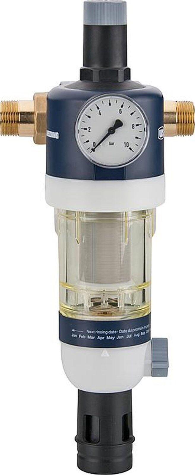 Estación de Agua Casa Incl. Conector rojouctor Presión y Manómetro Dn25 (1 )