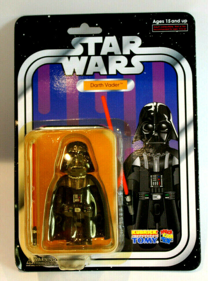 Medicom KUBRICK DARTH VADER Exclusive Carded Figure 2005 Toy Exhibition