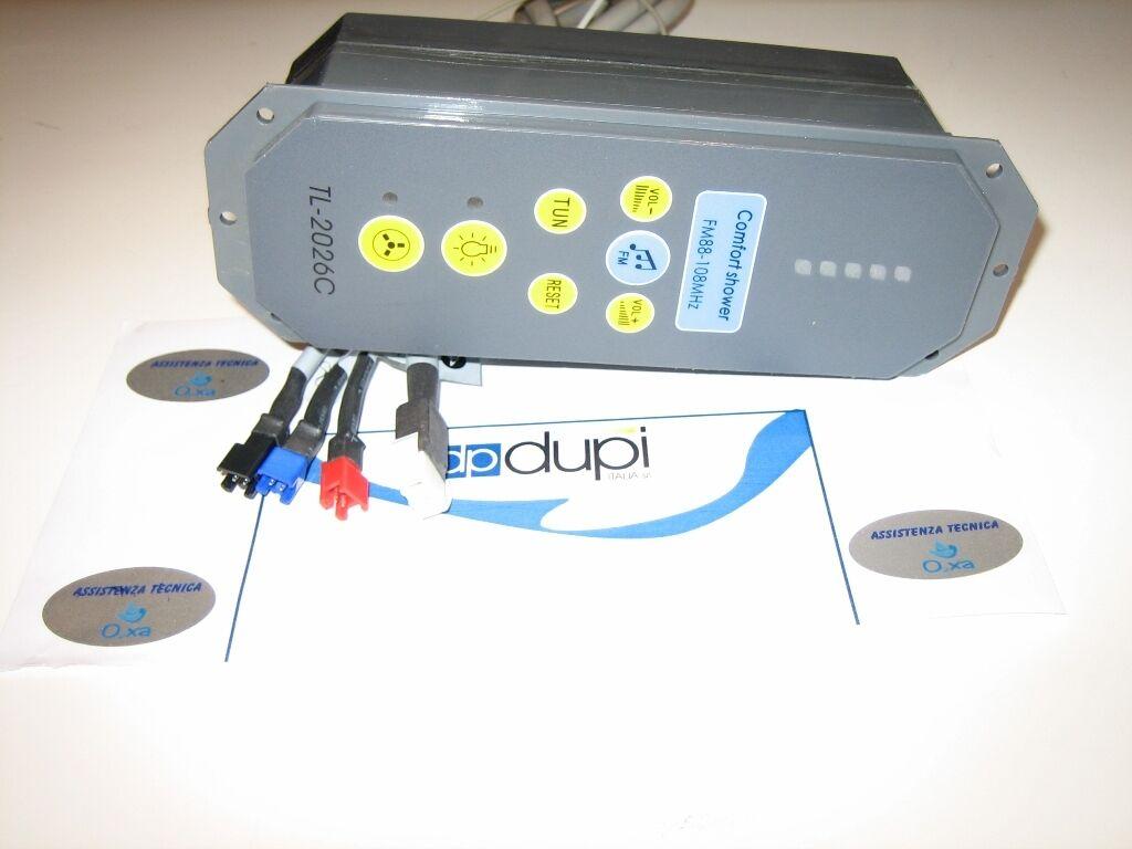 Ricambio Centralina elettrica comandi Quebec Dupi oxygen RB044Q