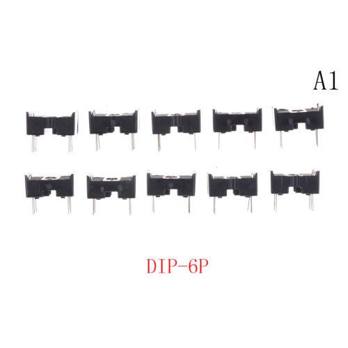 10PCS DIP IC Sockets Adaptor Solder Type Socket 6P//14P//16P//18P//20P//24P Pip TO