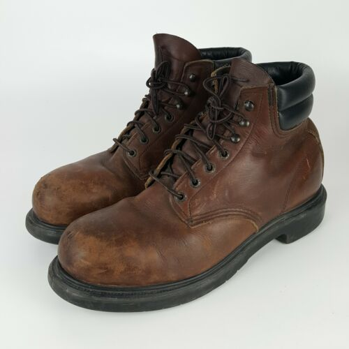 STEEL TOE 2245  BROWN RED WING MADE IN USA ENGINEE