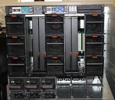 Dell PowerEdge M1000e Blade Chassis 3x Power Supplies, 9 Fans,1x CMC, 1x KVM