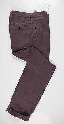 NWT BRUNELLO CUCINELLI Mauve Purple Cotton Casual Pants Size 58/42