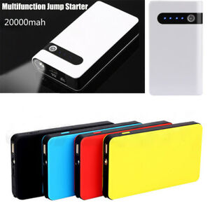 Details About 20000mah Portable Car Jump Starter Booster Jumper Box Power Bank Battery Charger
