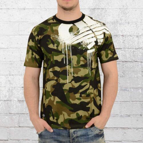 Pelle Pelle Hommes T-shirt Demolition Camouflage Hommes Tshirt PellePelle Camo