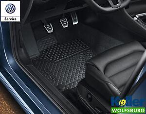 Original Volkswagen VW Gummimatten Fussmatten Allwettermatten Polo 6R vorn