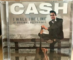 Johnny Cash I Walk The Line 16 Original Recordings Country Music Cd Like New 821838167129 Ebay