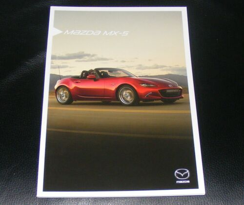 BROCHURE Mazda MX-5 2015//2016