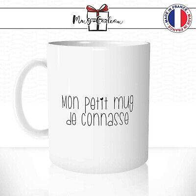Tasse Personnalisée Mugs Mon Petit Mug De Connasse Coeur Humour Fille Café Thé