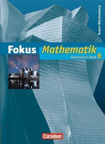 1 von 1 - Fokus Mathematik 6 - Schülerbuch - Gymnasium Baden-Württemberg von Jürgen...