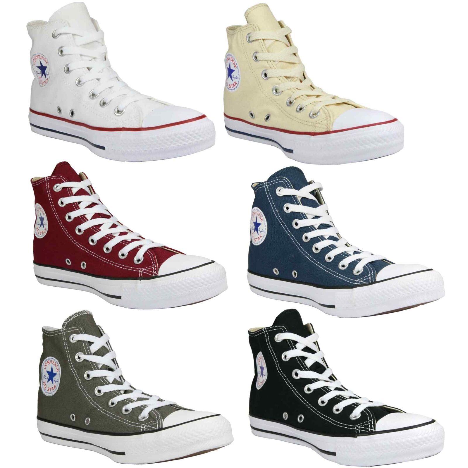 Converse Chuck Zapatos Taylor All Star Hi Zapatos Chuck High-Top Sneaker Damen Herren cc890a