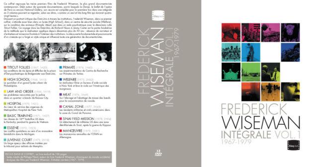 FREDERICK WISEMAN 1967-1979 V1 - 13 DVD