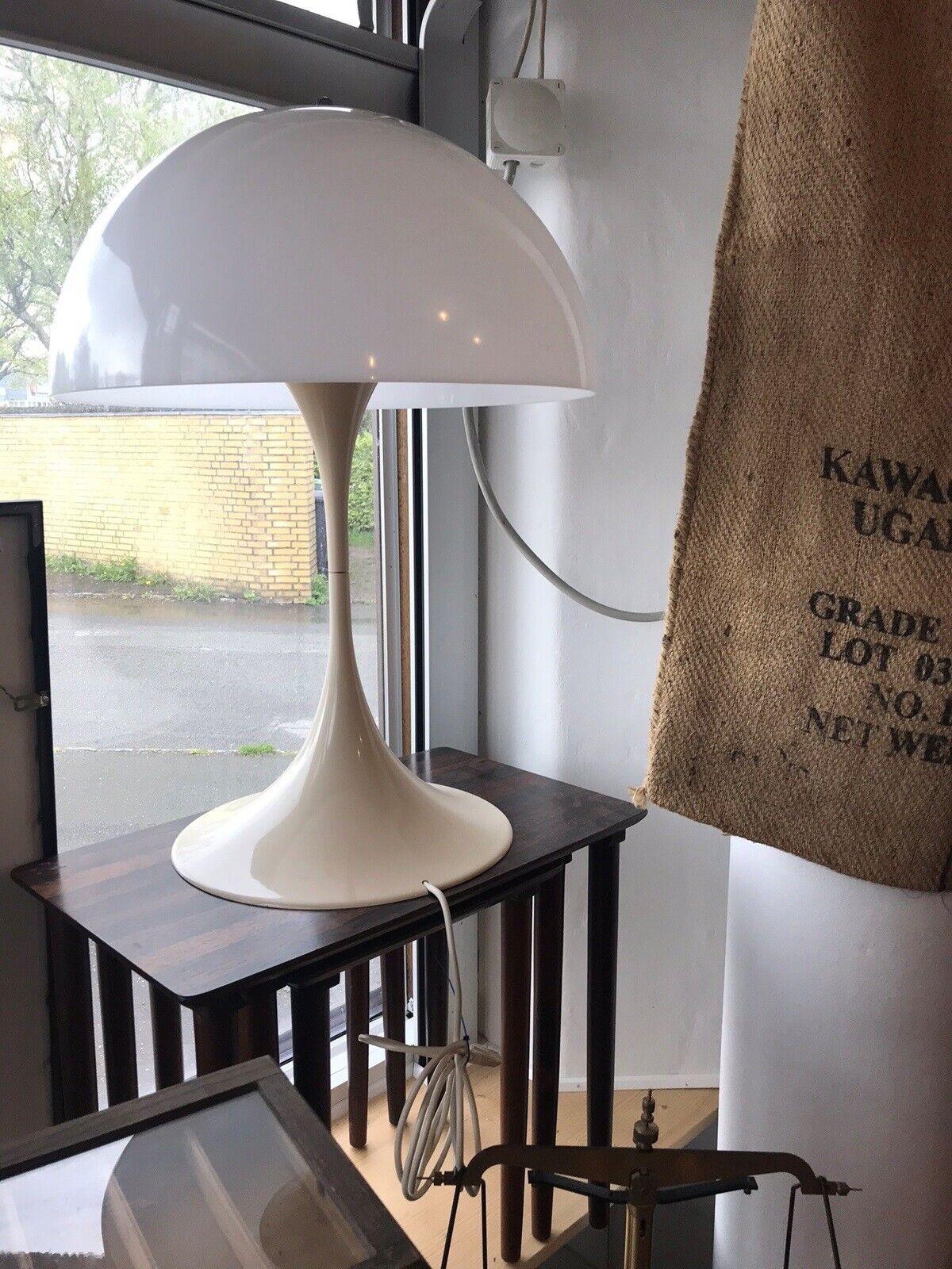 Picture of: Arkitektlampe Verner Panton Dba Dk Kob Og Salg Af Nyt