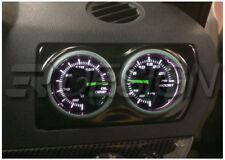 Vauxhall Astra H MK5 VXR Air Vent Double Gauge Pod adapter Gloss black ABS