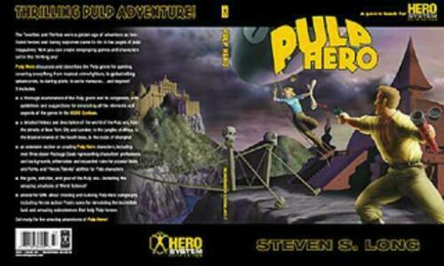 Hero System 5th Ed Pulp Hero Core Rulebook Steven S Long FREE US Shipping