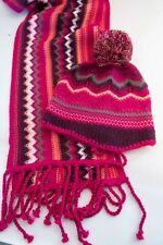 Harley-Davidson Little Girl Knit Winter Hat 4-6X Pink Gloves /& Scarf Gift Set