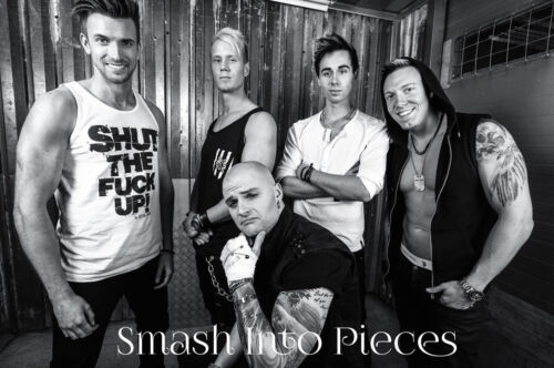 SMASH INTO PIECES MUSIC BAND GLOSSY WALL ART POSTER A1 - A5 SIZES AVAILABLE