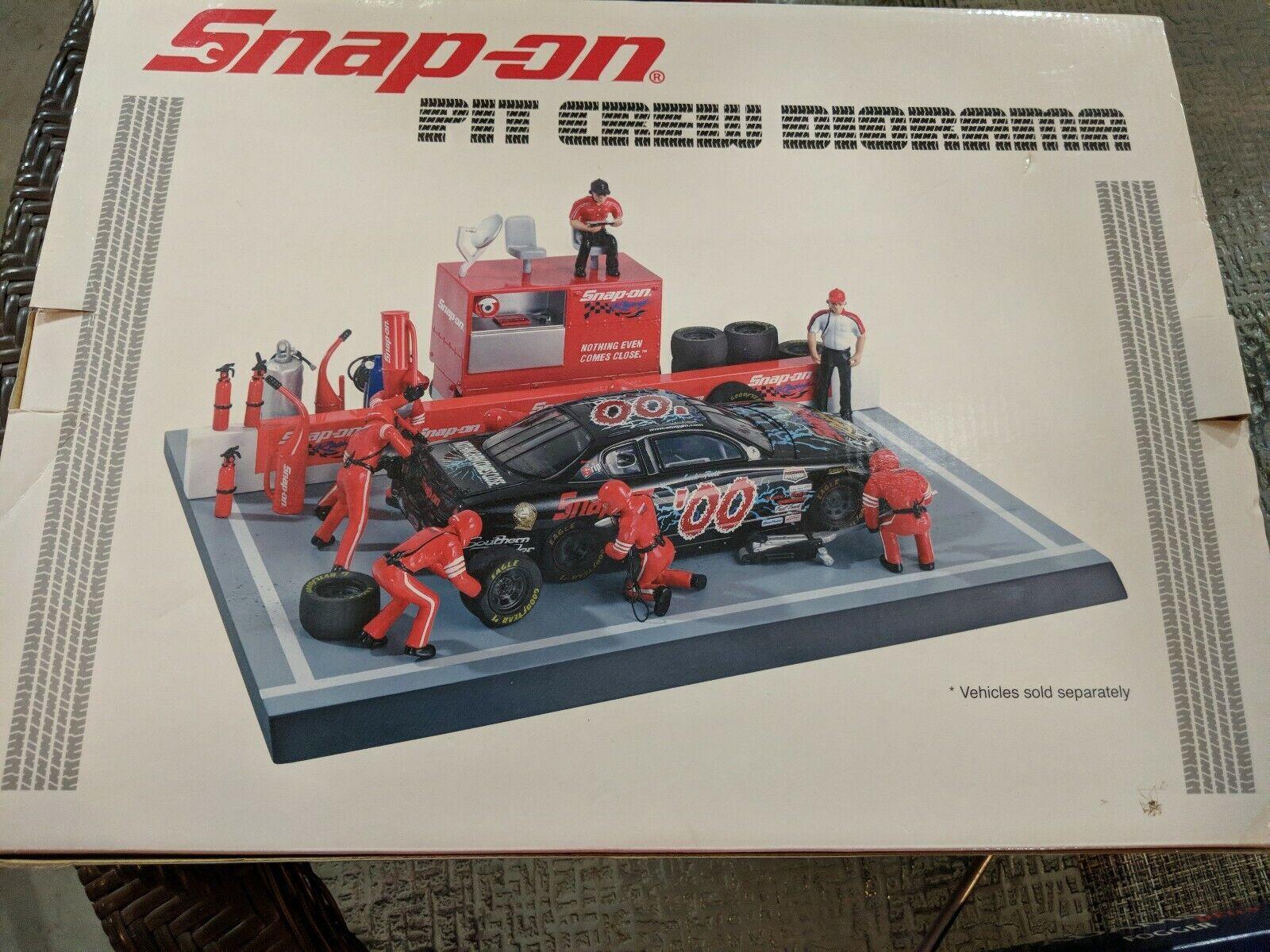 nuevo  Snap-on Tools equipo en boxes Diorama Nuevo En Caja