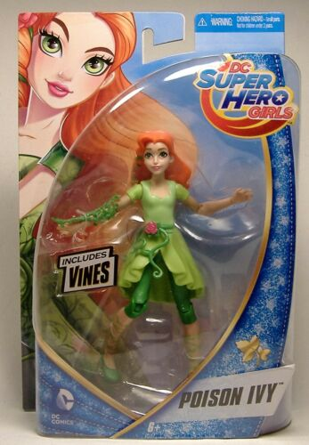 "POISON IVY DC SUPER HERO GIRLS ACTION FIGURE 6/"" MOSC DC COMICS BATMAN JOKER 2015"