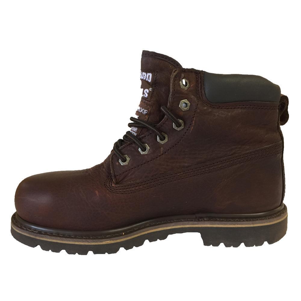 Buckler B750 Marronee Scuro Lacci Cuoio da Lavoro Sicurezza Stivale Impermeabile   Terrific Value    Scolaro/Ragazze Scarpa