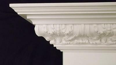 Gas / Wood Victorian Style Fireplace Mantel Surround