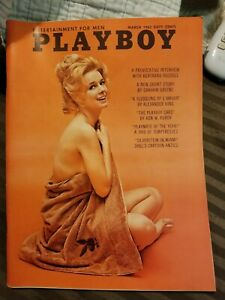 Playboy-March-1963-Very-Good-Condition-Free-Shipping-USA
