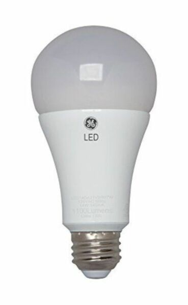 Led Daylight Bulb: 3-way Led Light Bulb, Daylight, 4/10/16 Watt, GE, 92118