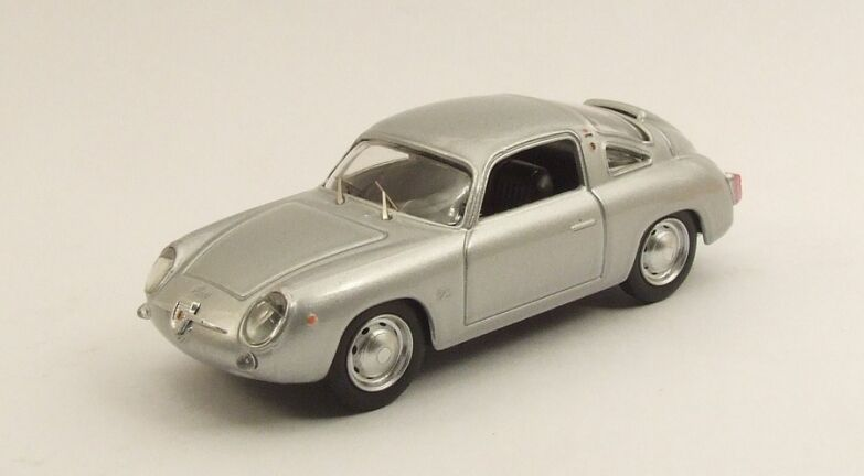 Best MODEL 9483 - Fiat Abarth 750 Zagato argent - 1958   1/43