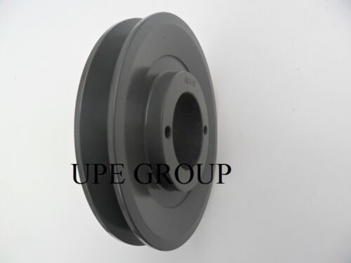 """Cast Iron pulley SHEAVE   4.75/"""" for electric motor 1 groove for 3L 4L /& A  belts"""