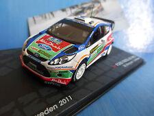 Altaya 1:43  Ford Fiesta Sweden Rallye 2011 Hirvonen//Lehtinen