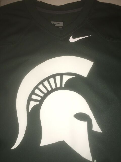 huge selection of 119ff 186a4 $70 Michigan State Spartans Nike Official School Logo & name Jersey Mens  Large L