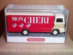 1/87 Wiking Mercedes Benz Lp 1317 Koffer-lkw Mon Chéri Neu !! Harmonious Colors
